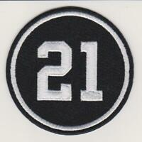 Chicago Blackhawks Stan Mikita #21 Memorial Patch