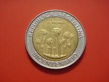 Argentina 1 Peso, 2010, Bicentennial - El Palmar