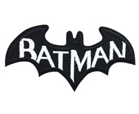 Batman Patch for Embroidery, Cloth Patches Badge Iron Sew On