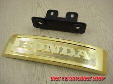 Honda MONKEY Z50  Z50A Z50J FRONT PLATE LOGO / MONKEYBIKE / GOLD