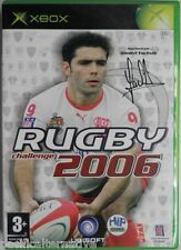 Jeu RUGBY CHALLENGE 2006 microsoft XBOX game francais action sport yachvili #1