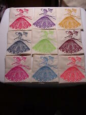 Southern Belle Quilt Blocks, 9, machine embroidered