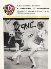 OL 87/88 SG Dynamo Dresden - FC Karl-Marx-Stadt