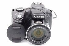 Canon Powershot SX50 Hs 12.1 Mp 50x Zoom Objectif Appareil Photo Numérique Noir