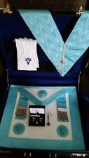 Craft Masonic case set, incl Case, MM Apron, Collar, Gloves and Cufflink set