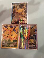 Pokemon cards -Pikachu ex- Zappos ex- Pikachu full art