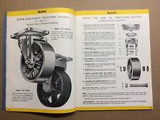 1940s Bassick Truck Casters Catalog Indutrial Equipment Industry Wheels