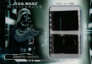 Star Wars Masterwork 2019, Darth Vader Film Cell Relic Card FC-DV5 1/1