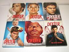 Dexter Seasons 1-6 Complete DVDs 1,2,3,4,5,6 Showtime