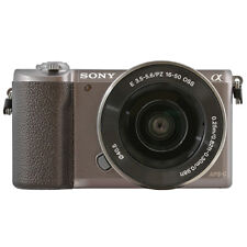 Sony Alpha a5100 Mirrorless 24.3MP Digital Camera with 16-50mm Lens Brown