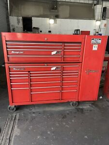 Snap On Tool Box KRA 500 Series, 54 Inch, Drawed Side Locker Included