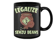 Dragon Ball Legalize Senzu Beans Funny 11oz Coffee Mug, Tea Cup Birthday Present