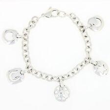 2d711c37b Authentic Tiffany & Co. Stencil Charm Bracelet 7
