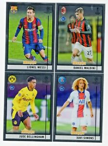 2020-21 Topps Merlin Collection Chrome UEFA Soccer Base #1-100 You Pick!