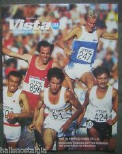 Summer 1984 Vista USA Magazine - The Olympics Come To L.A. Cover - Carl Lewis
