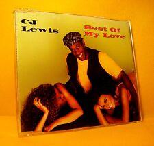 MAXI Single CD CJ LEWIS Best Of My Love 4TR 1994 dancehall reggae pop