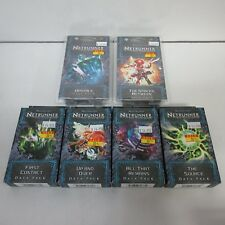 FFG Android Netrunner Lunar Cycle Set All 6 Data Packs NEW