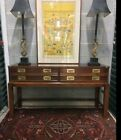 Nice  Campaign Chest with Drawers on Stand