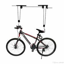Bike Lift Hoist for Garage Storage,Heavy Duty Utility Bicycle Pulley Rack Black