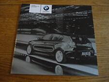 BMW 1 Serie ES tratteggio listino prezzi di vendita opuscolo settembre 2008