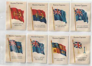 J.Wix Set 48  British Empire Flags. States, Territories, Colonies, Naval (S5)