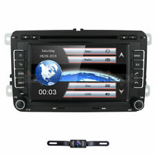 "for VW Passat Jetta Golf Touran Car GPS 7""HD Radio Stereo 2DIN DVD Player Camera"