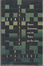 Generation Games by Pat Spallone (1992, Hardcover) - Genetic Engineering