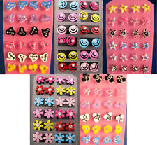BULK 140 Pairs Mixed Rhinestone Studs FREE POST