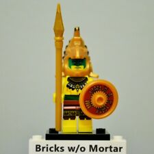 New Genuine LEGO Aztec Warrior Minifig with Shield and Spear Series 7 8831