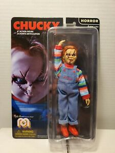 """D2 MEGO MONSTERS CHUCKY 8"""" ACTION FIGURE HORROR SERIES NEW MARTY ABRAMS LIMITED"""