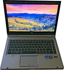 NOTEBOOK HP ELITEBOOK 8460p INTEL i5-2520M 14.1 SSD 250GB RAM 4GB WINDOWS 10 PRO