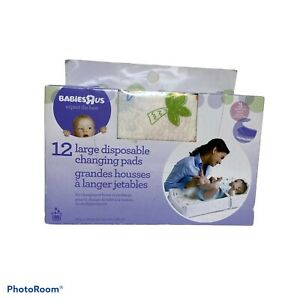 Babies R Us - 12ct Disposable Changing Pads for Baby - New