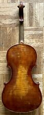 Alte Geige violine für Bastler mit Zettel