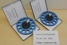 Tonbandspule f. Sony,Akai,Grundig,Revox,Teac  18 cm, 1 PAAR  -NEU - Art-Nr. LA6