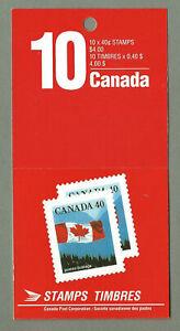 Canada Booklet BK169b Flag MNH Close