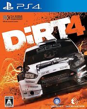 UBISOFT DiRT 4 SONY PS4 PLAYSTATION 4 JAPANESE