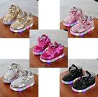 LED Hello Kitty Sneakers / Tennis Shoes- Gold, Silver, Pink, Black, Hot Pink