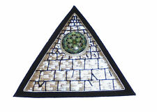 Ancient Alien Pyramid Metatron Cube Secret Society Occult Cosmic Zodiac Patch AO