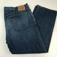 Levi's 559 Denim Jeans Mens 42X29 Blue Relaxed Straight Fit 100% Cotton Washed