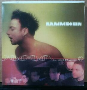 RAMMSTEIN Links 2,3,4 MEXICAN PROMO CD Mexico CD ROM Track South America