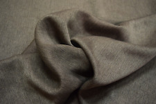"""MID CENTURY MODERN BROWN TWEED HOME DECOR UPHOLSTERY FABRIC 54""""W BY THE YD"""