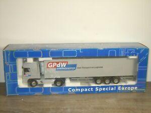 Daf 95 XF Truck & Trailer GPdW Mobiliteitscentrum - Joal CSE 1:50 in Box *51670