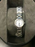 NEW Citizen Womens Eco-Drive EW8690-53A Stainless Steel Watch MSRP $250