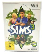 Die Sims 3 Nintendo Wii + Wii U Spiel Komplett in OVP auf Deutsch EA Basisspiel