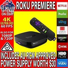 ROKU Premiere 4K Ultra HD & 1080P Streamer for NETFLIX PLEX Youtube (Premier)