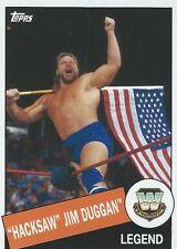 Hacksaw Jim Duggan 2015 WWE Heritage Legend Trading Card #22 WWF