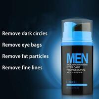 Mens Skin Care Natural Under Eye Cream Removes Dark Circles Bags Wrinkles