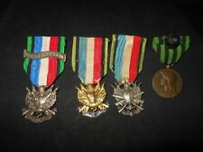 LOT MEDAILLE VETERAN 1870 1871 N'OUBLIER JAMAIS DIFFERENTE + COMMEMORATIVE