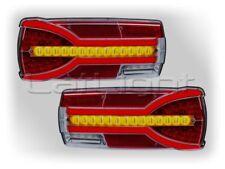 2x LED Rückleuchten Neon Rücklicht  Dynamischer Blinklicht LKW PKW 12 24 Volt