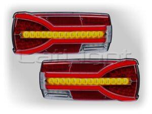 2 x Multifunktions Rückleuchten 12 V 24 V Rücklichter